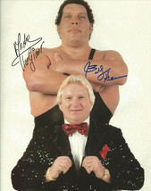 Andre The Giant & Bobby Heenam Signed Photo 8X10 Rp Autographed Wwe Wwf Wrestlin - $19.99