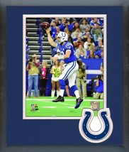 Andrew Luck 2018 Indianapolis Colts QB - 11x14 Team Logo Matted/Framed P... - $888,58 MXN