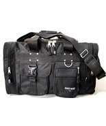 BLACK DUFFELBAG  DUFFEL Gym BAG Bags New 25 Inch Carry On Sports Workout... - $19.99