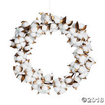 Cotton Plant Wreath - $26.36