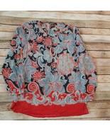 Tommy Bahama Women 100%Silk  Top Size S/P - $19.80
