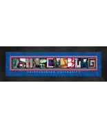 Shippensburg University Officially Licensed Framed Campus Letter Art - $39.95