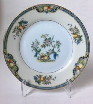Vintage Noritake Vintonia Bread and Butter Plate Fruit w Gold Trim c1921... - $7.95