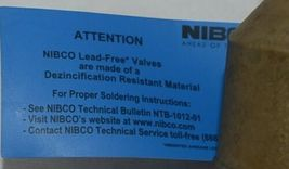 Nibco S FP600A Lf 1 1/4 Inch Solder Lead Free Ball Valve Full Port image 6