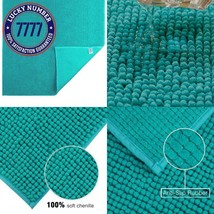 Jml Bath Mat Non-Slip Soft Absorbent Machine Washable Bathroom Rug Bath ... - $28.36