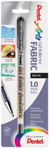 Gel Roller Fabric Pen 1mm-Black - $2.69