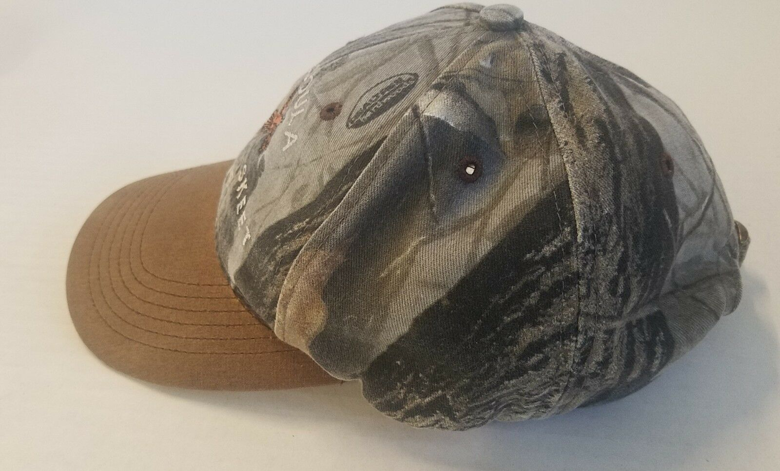 Missoula Trap & Skeet Club Realtree Hardwoods Camo Hat Cap Adjustable Strapback