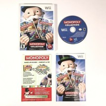 Monopoly Collection Nintendo Wii 2011 Complete - $17.75