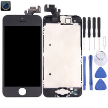 LCD Screen and Digitizer Full Assembly with Front Camera for iPhone 5(Bl... - $18.18