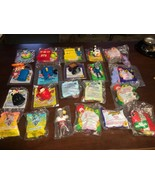 Lot of 20+ Vintage McDonald's Happy Meal & Arby's Toys w/ Original Bags - $18.99