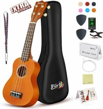 Soprano Ukulele Beginner Pack-21 Inch w/Gig Bag Fast Learn Songbook Digital - $59.95