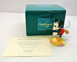 """WDCC """"Millennium Mickey: On Top Of The World 1206254 w/ COA - $37.49"""