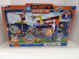 Spin Master Nickelodeion Rusty Rivets Lab Playset BRAND NEW! - $29.65