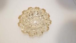 Vintage Nesting Ashtrays Hazel Atlas Glass Fluted Round - $39.00