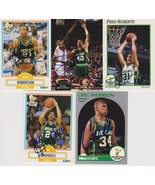 Milwaukee Bucks Signed Lot of (5) Trading Cards - Robertson, Humphries, ... - $9.99