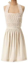 Anthropologie Tiers of Lace Apron Ivory Elegant Mom Shower Wedding Gift NWT - $41.30