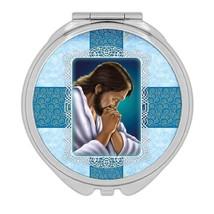 Jesus Gethsemane : Gift Compact Mirror Catholic Religious Prayer Praying - $12.99