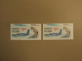 USPS Scott 2182a 25c Jack London 2 Books 1988 40 Stamps 4 Panes Mint Boo... - $29.03