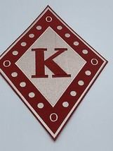 """Kappa Alpha Psi - 10"""" Embroidered (Iron on) Patch - £17.21 GBP"""