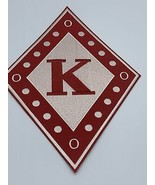 """Kappa Alpha Psi - 10"""" Embroidered (Iron on) Patch - £17.38 GBP"""