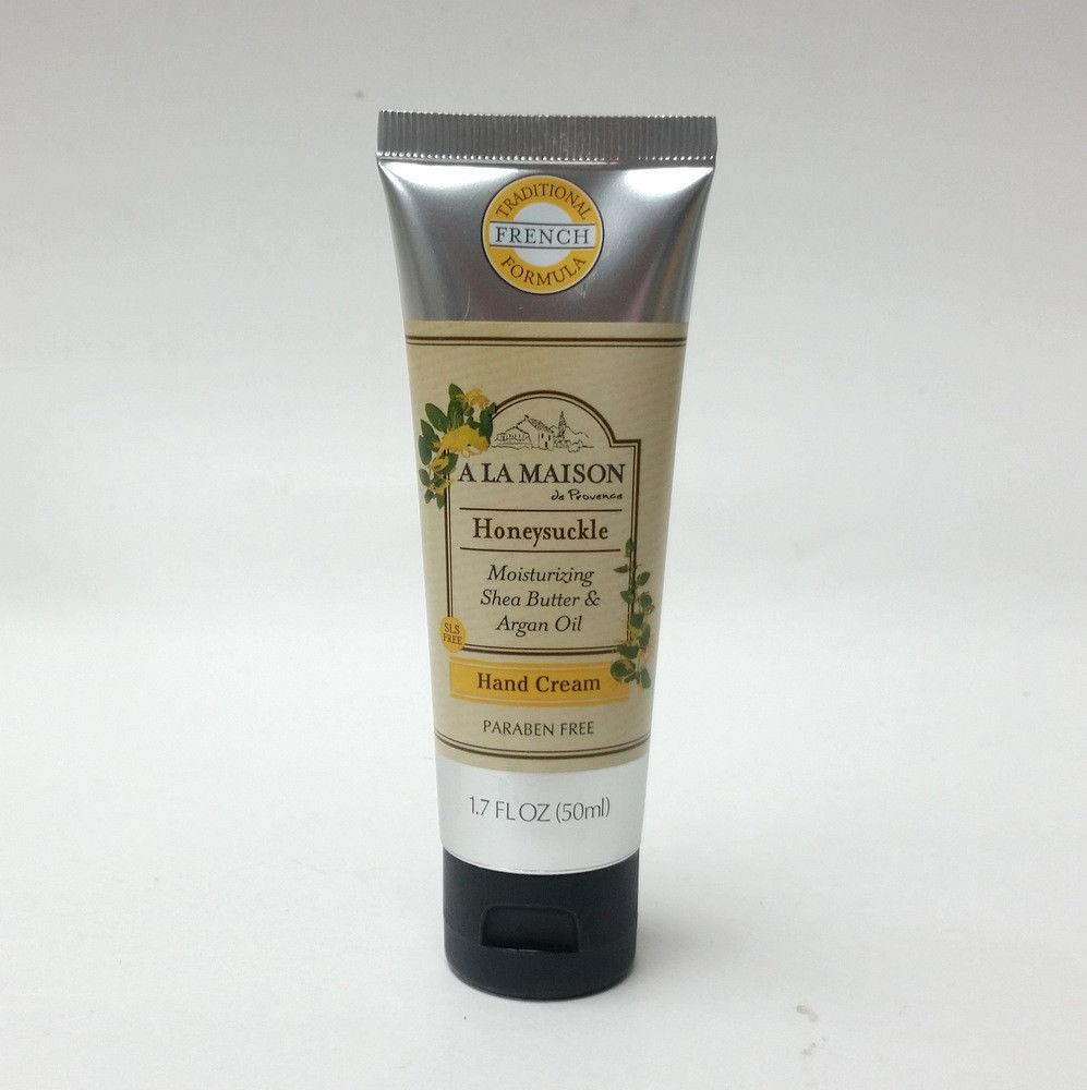 A La Maison de Provence Moisturizing Hand Cream Honeysuckle 1.7 oz Travel Mini