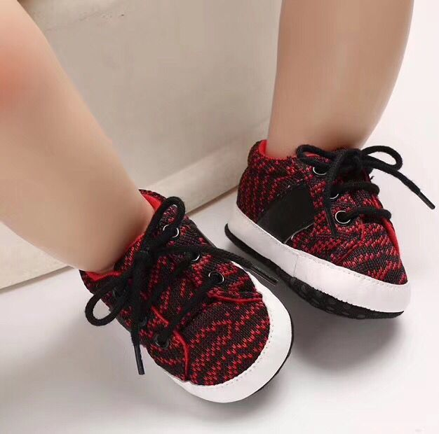Soft Bottom 0-18 Months Baby Toddlers Shoes Fashion Walking Shoes #1112 image 2