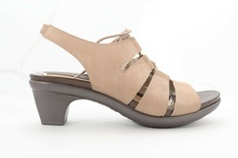 Abeo Georgia Sandals Taupe Size US 8.5 Neutral Footbed ()$$$ - $74.45