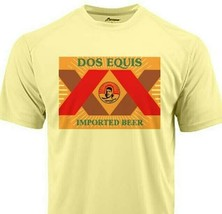 Dos Equis Dri Fit T-shirt moisture wicking sun protection SPF 50 beer tee image 1