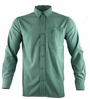 Gillz Men's Deep Sea Long Sleeve Woven Shirt Goblin Blue 2XL SEALED!!!