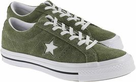 Converse Mens One Star Ox Suede 161576C Field Surplus (Olive) / White Size 9 image 7
