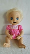 "Hasbro Baby Alive Doll 16"" Soft Face Interactive 2006 Talk Eat Drink & P... - $79.00"