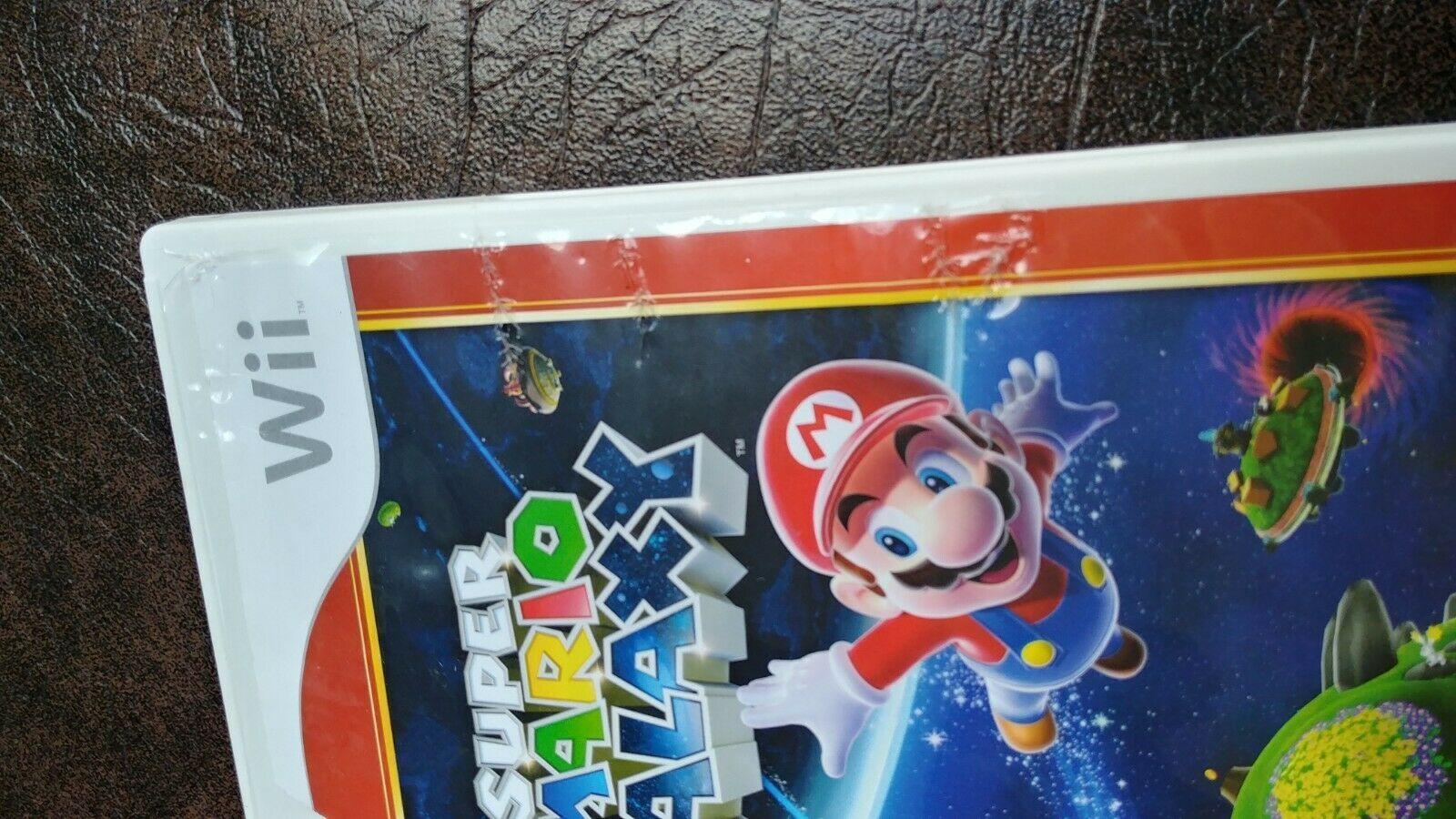Super Mario Galaxy Video Game Nintendo Wii