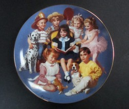 Danbury Mint Children of the Week Come Gather 'Round Plate w/box, no COA - $8.99