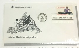 1977 Seamstress First Day Cover Readers Digest Daughters of Liberty FDC - $9.84