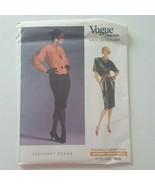 Vogue 1930  Misses Jacket Top Skirt Petite Pattern Geoffrey Beene Size 10  - $10.88