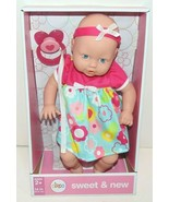 """Circo Baby Doll Sweet & New Ages 2+ 14"""" (35.5cm) With Pacifier, Dress & ... - $19.30"""