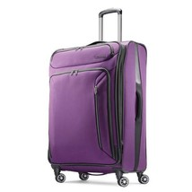 """American Tourister Zoom 25"""" Spinner Luggage Purple 92410-1717 - $119.99"""