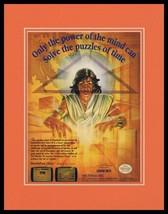 Daedalian Opus 1990 NES Nintendo Framed 11x14 ORIGINAL Advertisement - $34.64