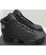 Air Jordan 13 XIII Retro BG Altitude 414574-042 Black Green Shoes Size 6.5Y - $118.79