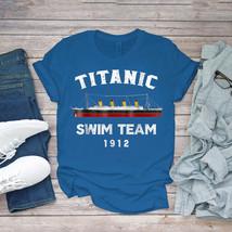 Swimming Funny Tee Titanic Swim Team Costume Atlantic Ocean Unisex - $15.99+