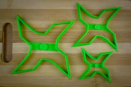 Ninja Star 2 - Four Point Throwing Star - Shuriken - Cookie cutter Multi... - $4.00+