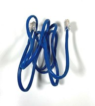 RJ11 Cable 50-Inch Telephone Wire - Blue - $7.91