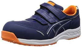 Asics Working Safety Shoes Fis 41 L Navy Sv 25.5 Cm New - $104.75