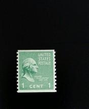 1939 1c George Washington, Coil Scott 839 Mint F/VF NH - $1.28