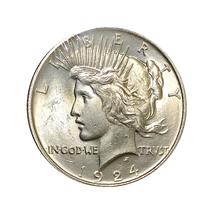 1924 P Peace Silver Dollar - Gem BU / MS / UNC - $42.00