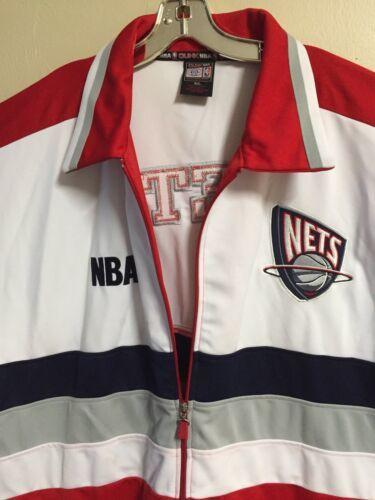 New YorK NETS NFL Basketball Jersey Kacket Front Zip Plus size 3X  NEVER WORN