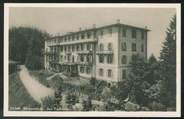 Switzerland Lake Luzerne Alps Burgenstock Resort Das Park Hotel RP Postcard - $9.00