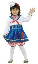 Lil' Sailor Girl Nautical Child Halloween Costume Toddler Size 3-4T - £24.48 GBP
