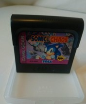 Sonic Chaos (Sega Game Gear, 1993) Cartridge Only w/ plastic case - $9.38