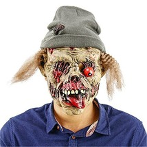 QTMY Latex Rubber Vampire Mask with Hat for Halloween Party Costume - £10.15 GBP
